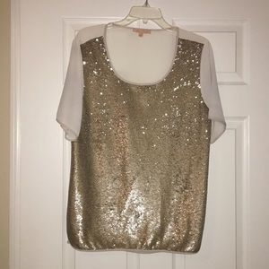 Gibson latimer shirt size M. With sequin front!